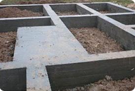 Ленточный монолитный фундамент для дома из газосиликата
