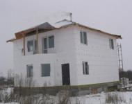 Двух этажный дом №2